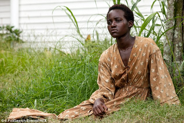 Amazing performance: Lupita as Patsey in the critically acclaimed 12 Years a Slave