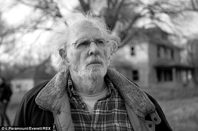 Gritty drama: Bruce Dern plays an aging, boozing old-timer who sets out on a journey to collect a milliondollar sweepstakes prize and learns some things about himself along the way