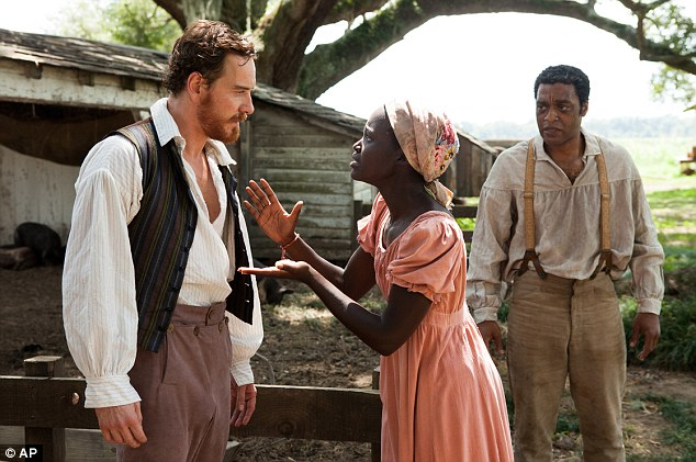Honour: Michael just earned his first-ever Oscar nomination in the Best Supporting Actor category for his role as a brutal slave owner in 12 Years A Slave