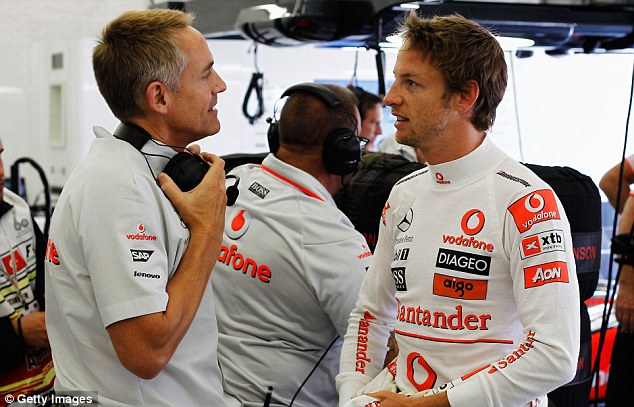 Time's up: Whitmarsh's future as team principal appears untenable following the return of Dennis