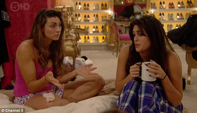 The truth comes out: Luisa told Casey that Lee had told her she was after a 'showmance'