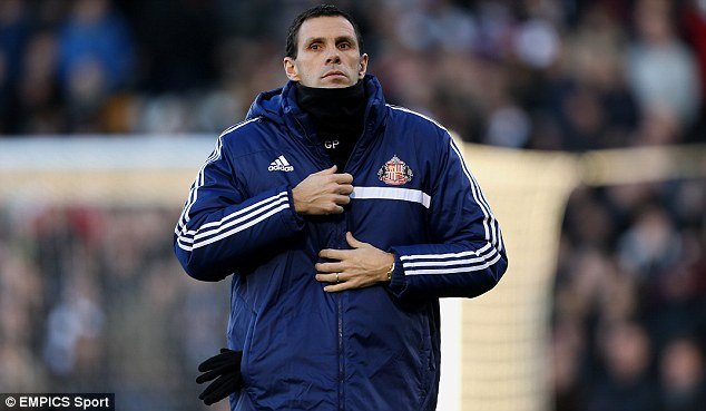 Busy man: Sunderland manager Gus Poyet hopes to strengthen his squad as they battle relegation