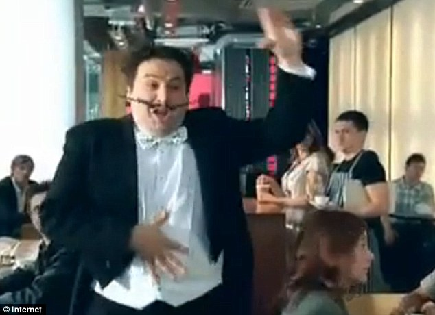 Annoyingly familiar?: The company behind the Go Compare advert (pictured) are also responsible for the Hotels4u campaign. They used a Welsh opera singer for the comparison website's commercial and have decided to opt for a regional accent again