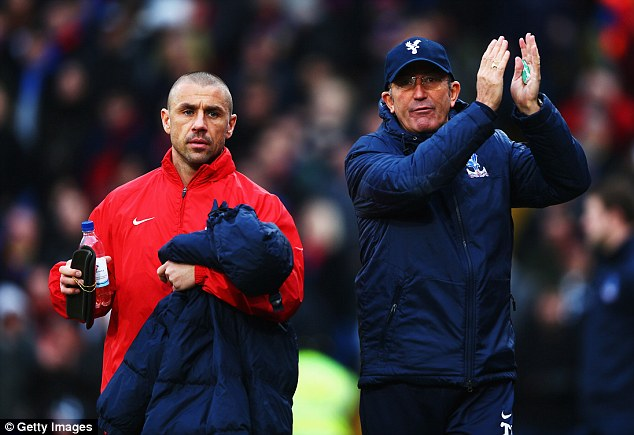 Where Eagles dare: Pulis is expected a rousing reception from Stoke fans after his good service