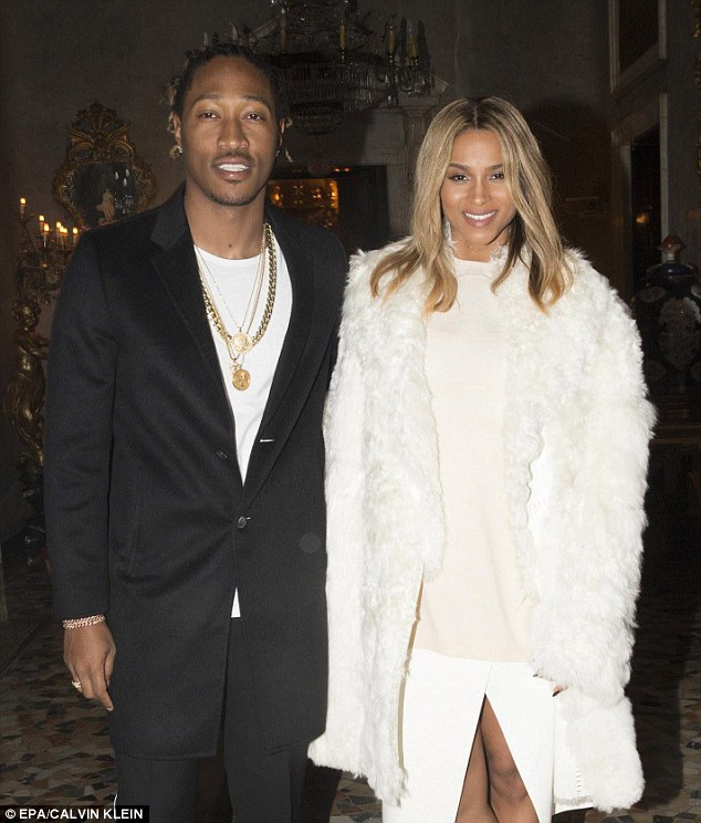 'Future' bride and groom! Pregnant Ciara has now revealed that she and her fiancé of three months, rapper Future, will walk down the aisle this spring