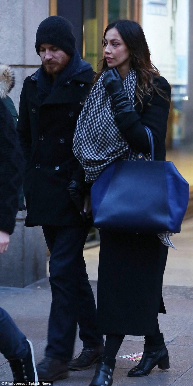 New romance? Michael Fassbender enjoyed Milan date with rumoured new girlfriend Madalina Ghenea on Wednesday