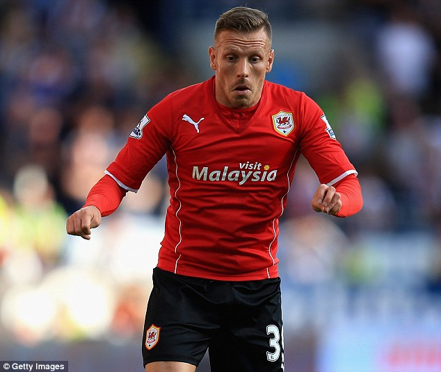 Friend now foe: Craig Bellamy could start for Cardiff against his former club