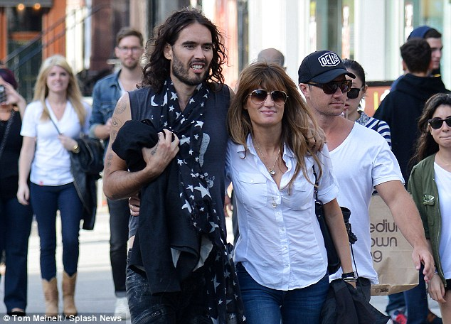 Friend of Julian Assange, lover of Hugh Grant, and now Russell Brand - Jemima has terrible taste in men