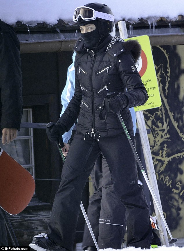 Not the traditional injury! Despite recently returning from a skiing trip in Switzerland, it was an energetic display on the dancefloor that caused Madonna's injury