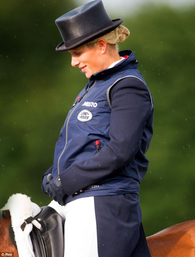 Zara is set to return to competing and is hoping to take part in the World Eventing Championship in August