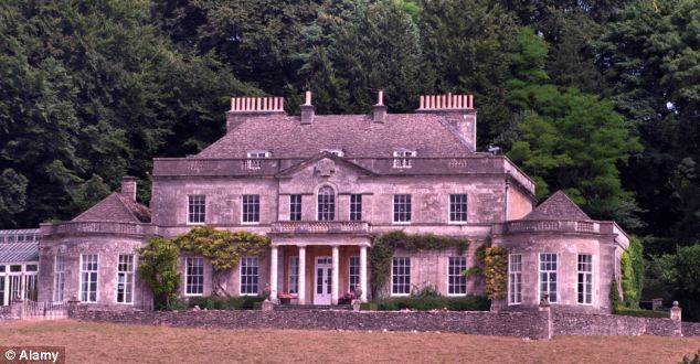 Home: The latest addition to the royal family will grow up on Anne's Gatcombe Park estate near Minchinhampton