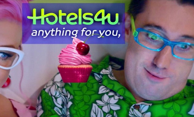 'Anything for you cupcake': The Brummie actor says the phrase repeatedly in response to his partner's holiday demands