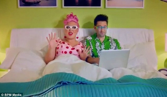'Offensive' advert: The Hotels4u TV campaign features a couple planning a holiday, with the man repeatedly replying 'Anything for you cupcake' in a heavy Brummie accent. However, viewers have responded by saying it is unrealistic