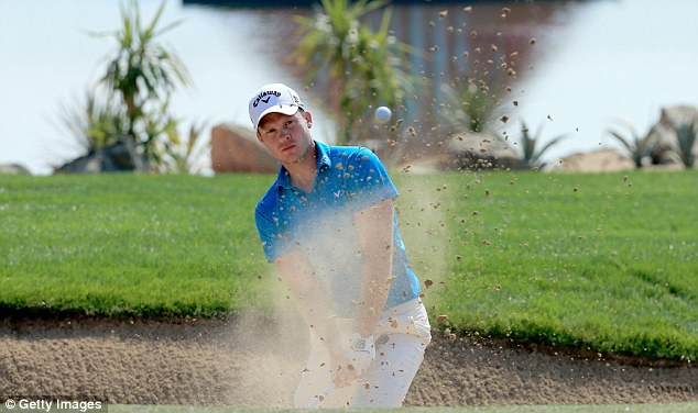 Out of a hole: Danny Willett went on a magnificent 26-hole run to put himself right in contention