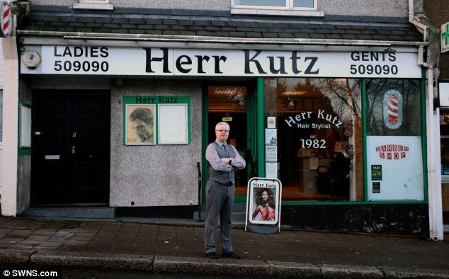 Anthony Braddon has said the Herr Kutz salon in Grand Theft Auto V is an exact replica of his family-run business