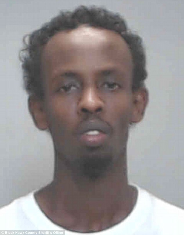 Mugshot: Oscar nominee Barkhad Abdi was arrested on August 18, 2012, and charged with possession of marijuana and possession of Khat