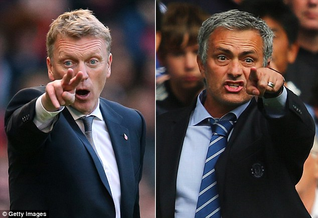 Opportunity knocks! Moyes claims Zaha has a chance when United take on Jose Mourinho's Chelsea