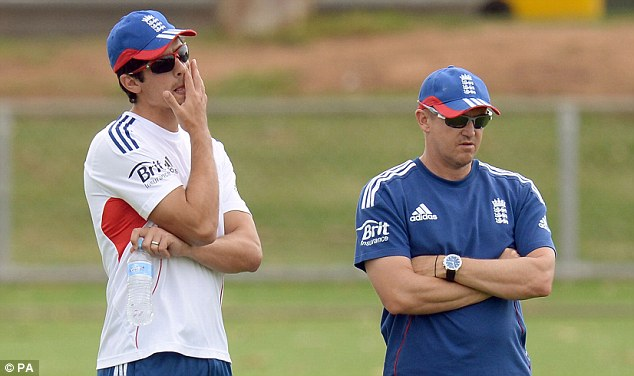 Time for a resurrection: Alastair Cook, who averaged just 24.60 in the Ashes loss, and Andy Flower