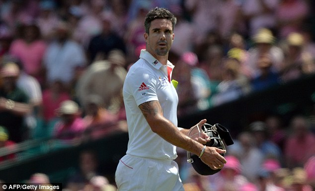 When he's on: Kevin Pietersen in form means a strong England team - no one is safe after the whitewash
