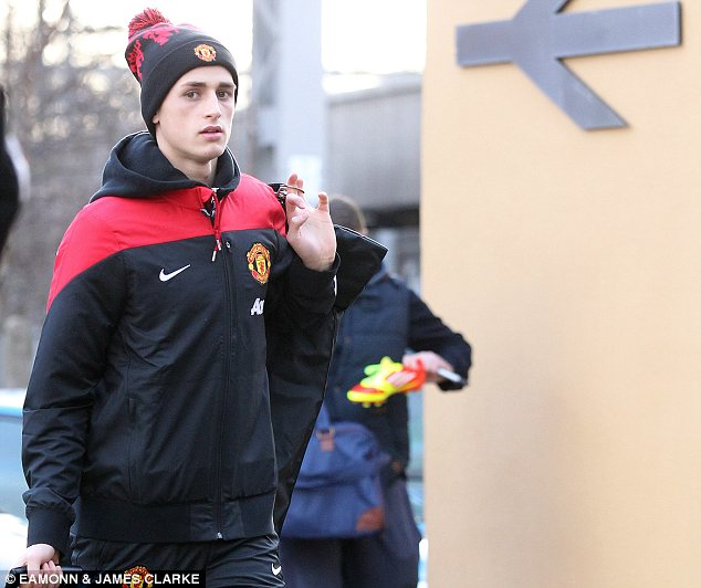 Sensation: Belgian starlet Adnan Januzaj has been one of the bright spots in United's season