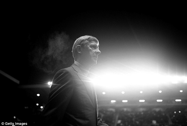 Shine a light: Gunners boss Arsene Wenger has lent his side an uncharacteristic steely exterior