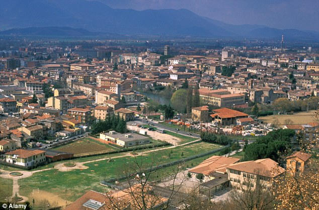 The 31-year-old woman was rushed to hospital in the central Italian city of Rieti