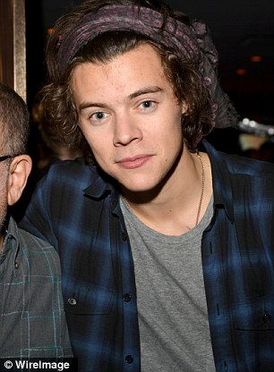 Life In The Fast Lane: Kendall (left) and Harry (right) were also seen separately at the concert venue
