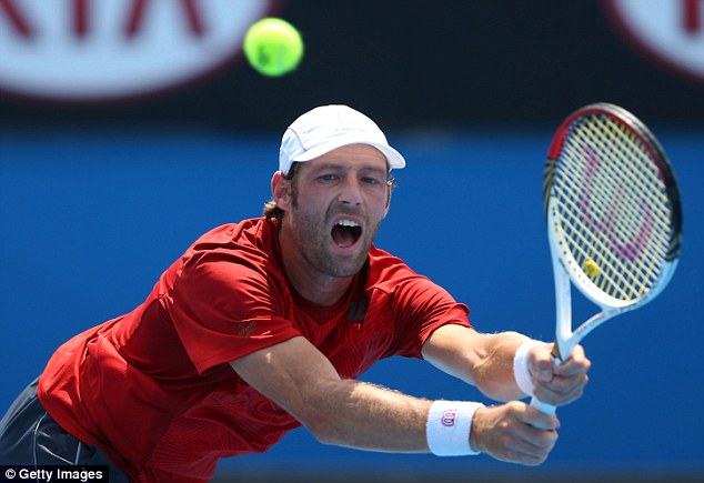 Record breaker: Stephane Robert is the first lucky loser qualifier ever to reach the last 16 in Australia