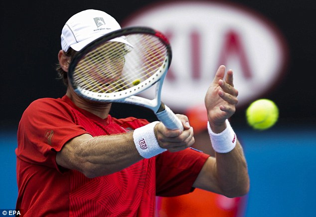 Surprise! Robert only found out his was playing at the Australian Open 10minutes before his first game