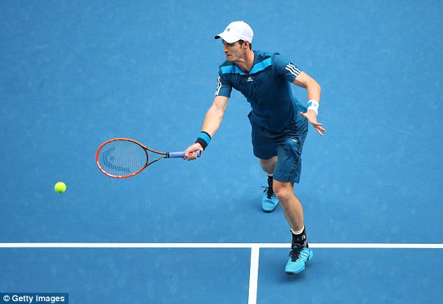 Doing it Down Under: Andy Murray is through to the last 16 of the Australian Open in Melbourne