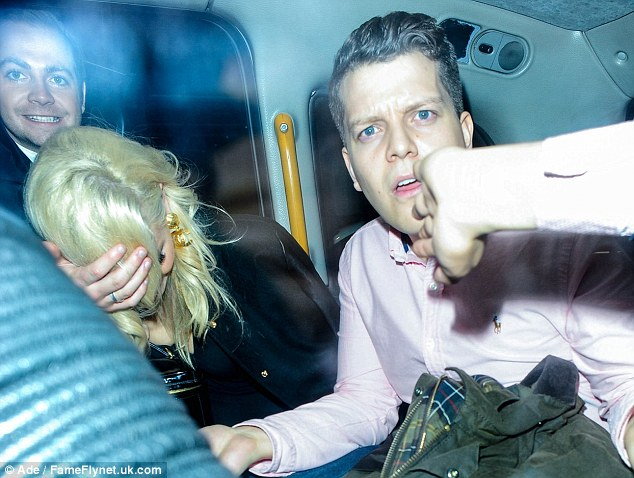 Jokers: Lott jumped into a cab with her brother and friends after leaving Chakana night club