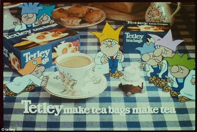 Tetley Tea Folk have been around for 40 years