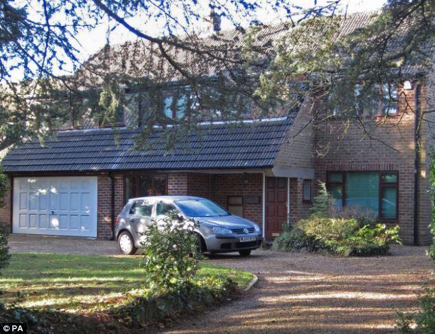 Home: The house  in Moreton Paddox, near Stratford-on-Avon, where Roger and Margaret Pratt lived