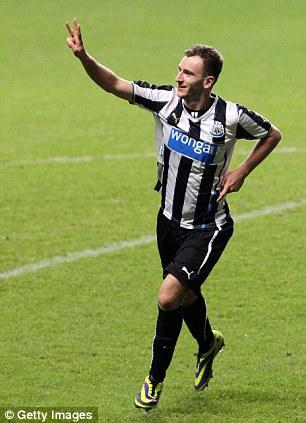 Johnathyn Quinn of Newcastle United