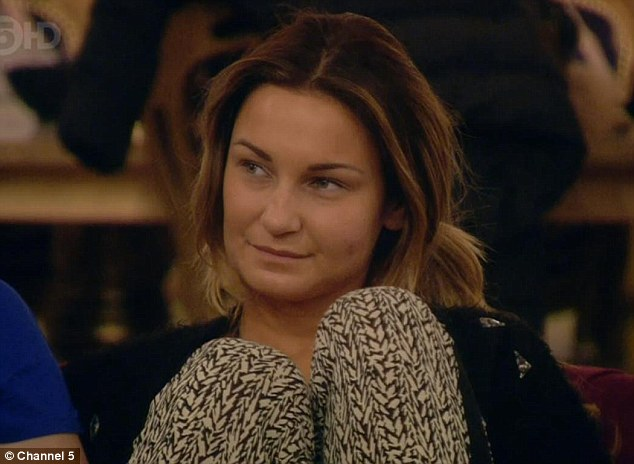 Nonplussed: Sam Faiers said she 'hadn't really thought about dating' Made In Chelsea star Ollie Locke
