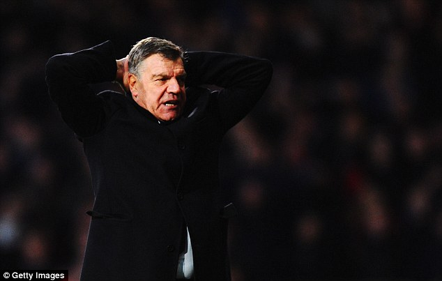 Problems mounting: Allardyce has had to deal with Fulham's interest in Morrison and also trying to arrest the poor form of his West Ham side