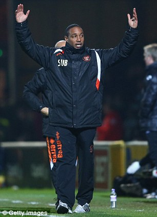 Game is up: Ince has lost his job as Blackpool manager