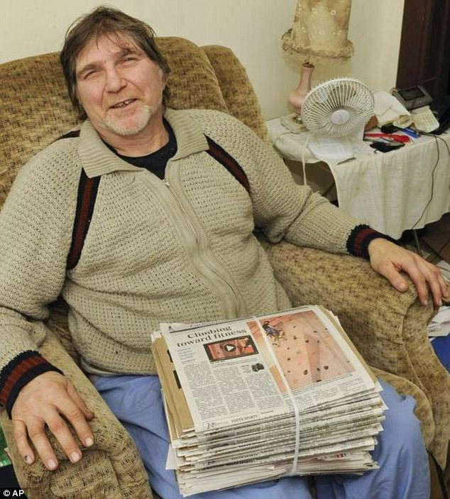 'My entire torso was inside the car': 56-year-old newspaper carrier Steve Gove of Manitowoc, Wisconsin was struck by a driver police suspect was drunk. He became lodged in the windshield, but the 20-year-old behind the wheel somehow didn't notice