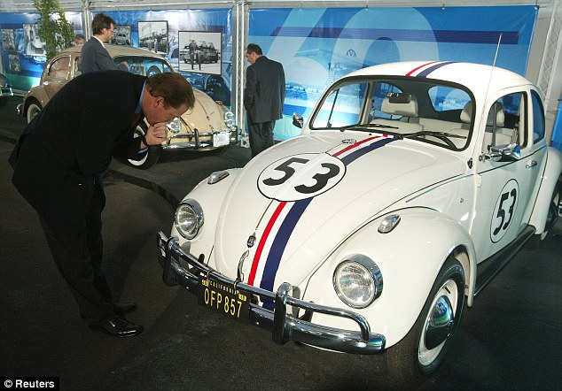 Motorists are much more likely to give way to the occupants of unthreatening 'classic' cars like the Beetle