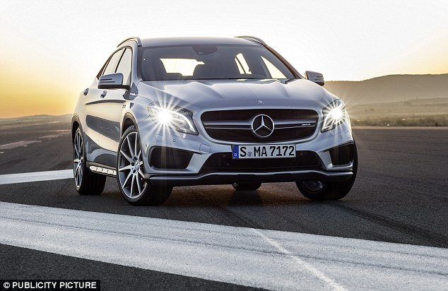 By contrast one in five drivers admit they are actually less likely to give way to a Mercedes-Benz
