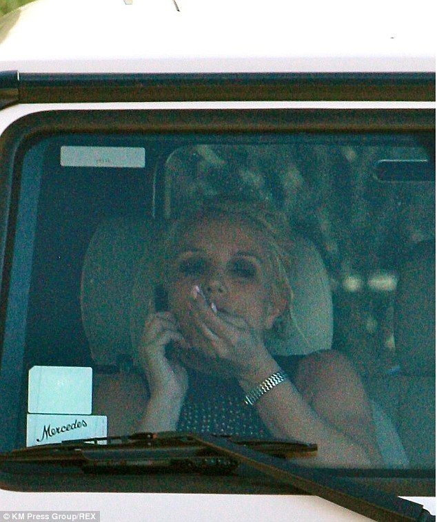 Hiatus: Britney is on a quick break before the second leg of her Las Vegas residency resumes on January 29