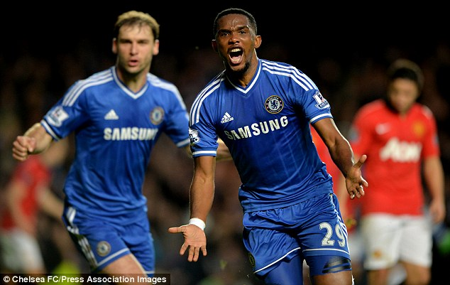 Short stay? Eto'o is 32 years old and ony has a one-year deal with Chelsea that ends in the summer