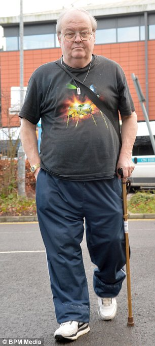 Anger: Raymond Osborne, 64, says he had to wait for 20 hours before being given a hospital bed