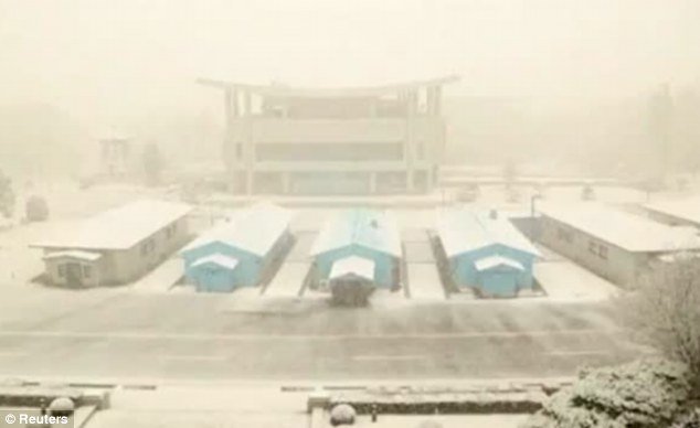 Bleak views: Another general view shot by Pacman and Peso for Escape To North Korea