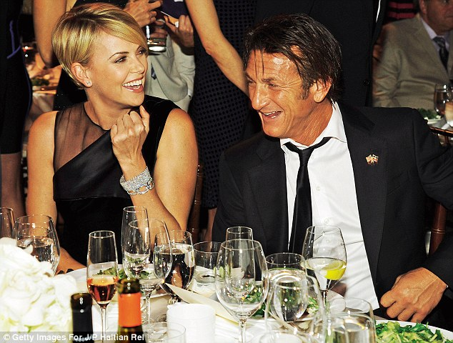 A new power couple?: The two appeared affectionate with each other on January 11 at the Help Haiti Home fundraiser in Beverly Hills