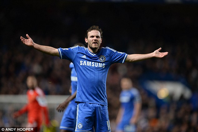 What more do I have to do? Mata is determined to leave Chelsea to increase his playing time