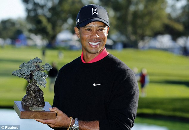 Happy hunting ground: Tiger Woods will start his season at the Farmers Insurance Open at Torrey Rines