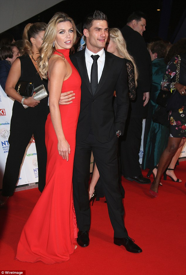 Arm-in-arm: Abbey and her dance partner dazzle dancing fans at London's O2 arena