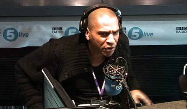 Anger: Stan Collymore believes Twitter should be doing more to stop abuse on the social networking site