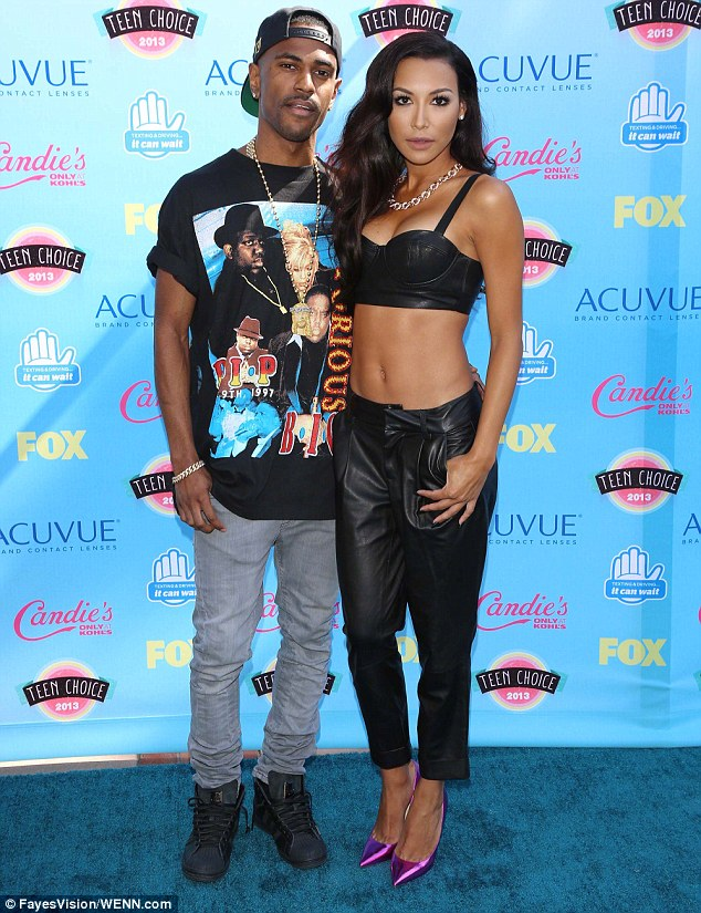 So in love: Naya and her longtime love, rapper Big Sean, will be tying the knot soon